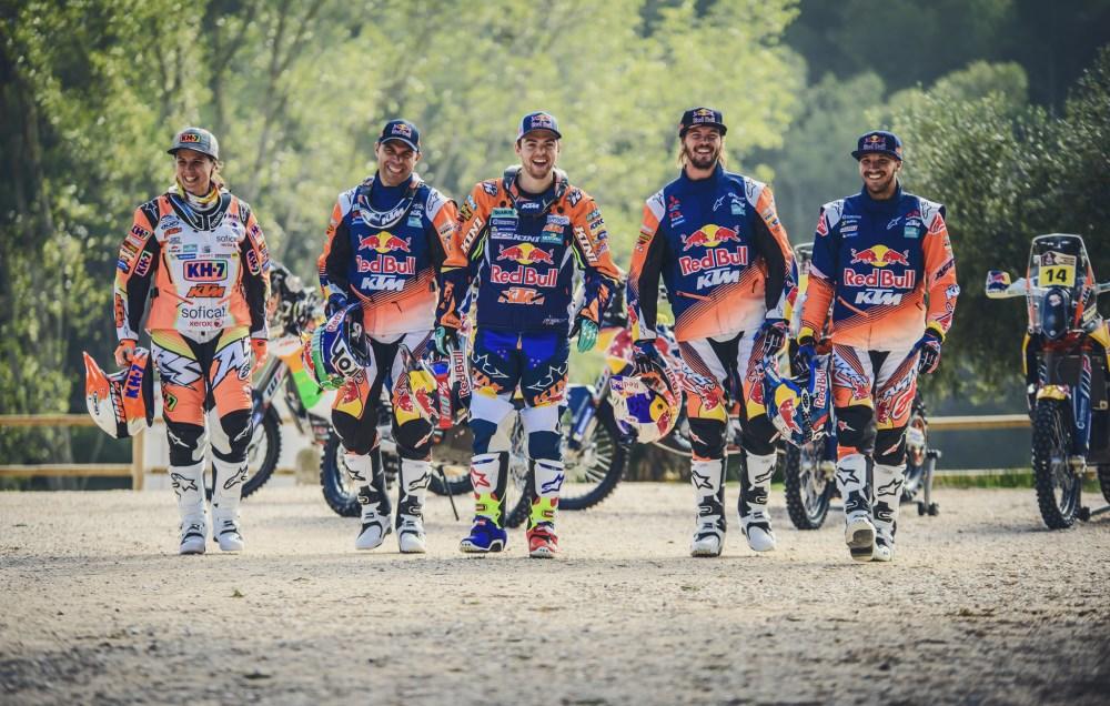 laia-sanz-antoine-meo-matthias-walkner-toby-price-sam-sunderland-ktm-450-rally-2016