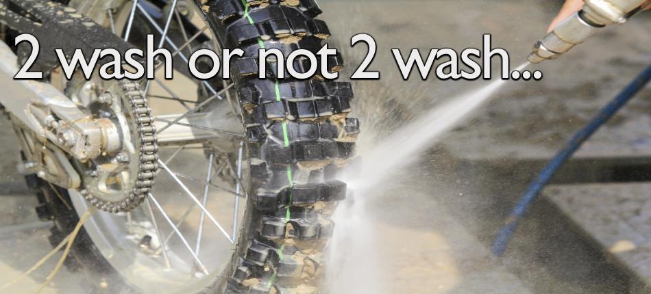 Wash Dirt Bike