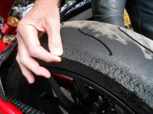 Track day Tire2