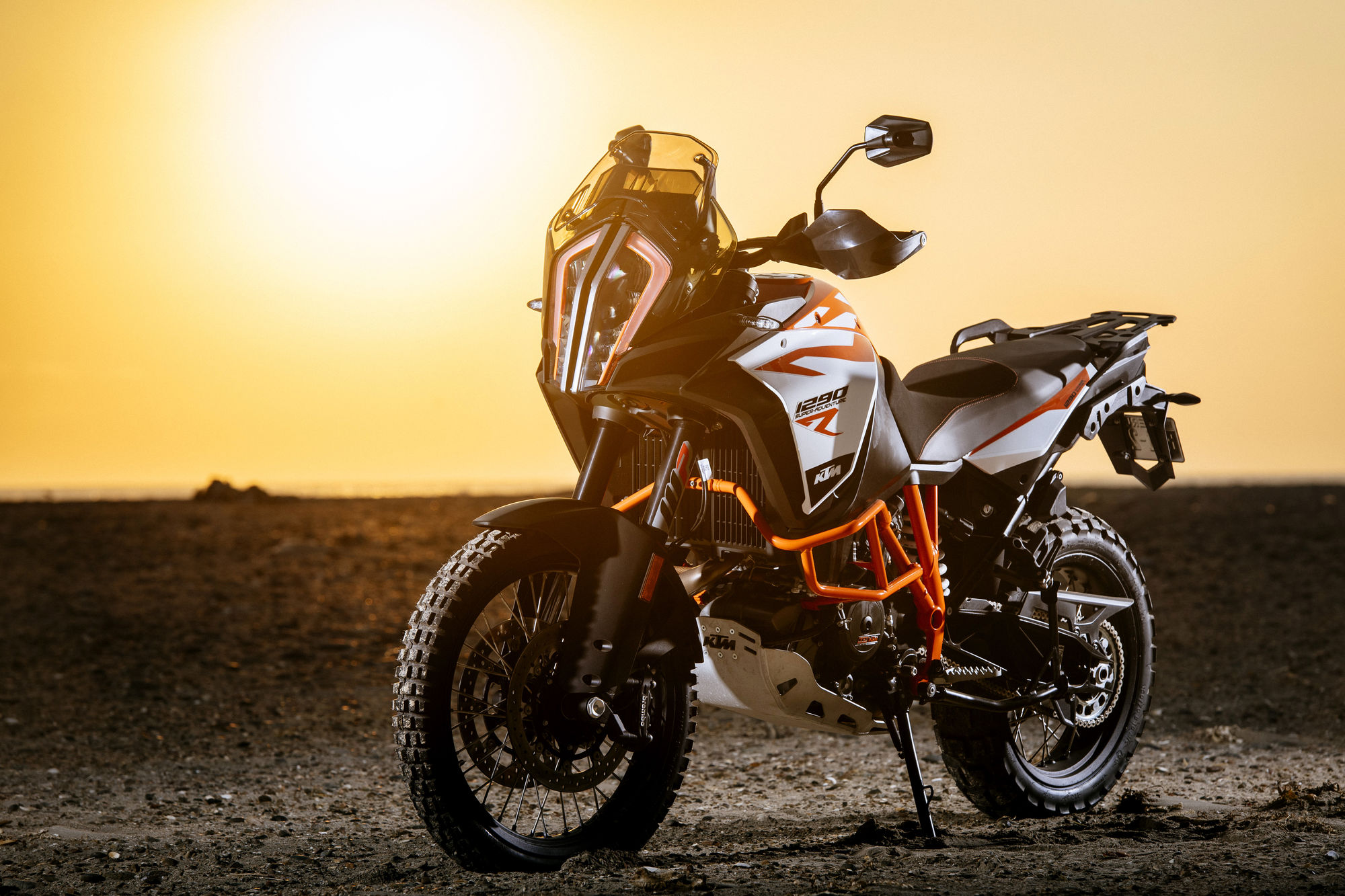 Ktm 1290 Super Adventure R No Topo Da Pirâmide Motosport Motosport