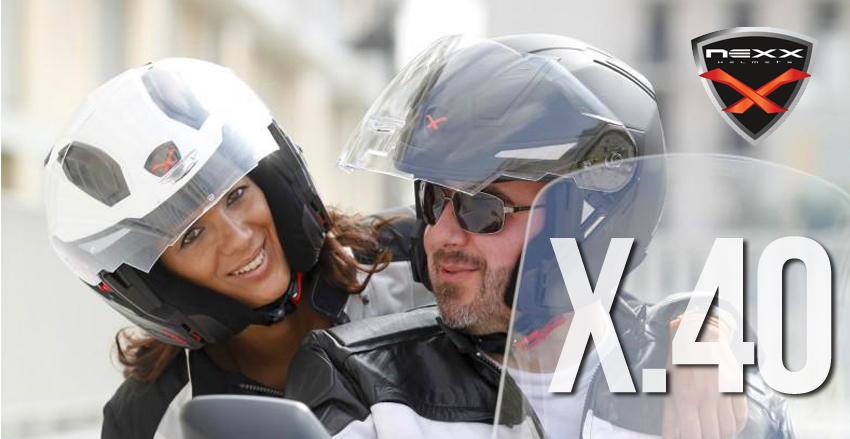 Capacete NEXX X.40 – polivalência e conforto ergonómico