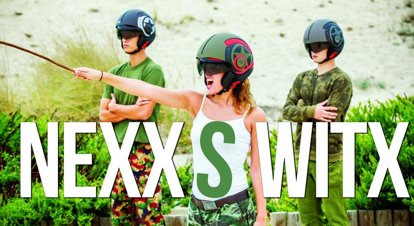 NOVO Capacete NEXX SWITX – SX.10 – Um Exército de Estilos