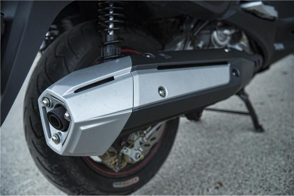 MaxSYM 600i ABS potência e conforto - MotoSport - MotoSport