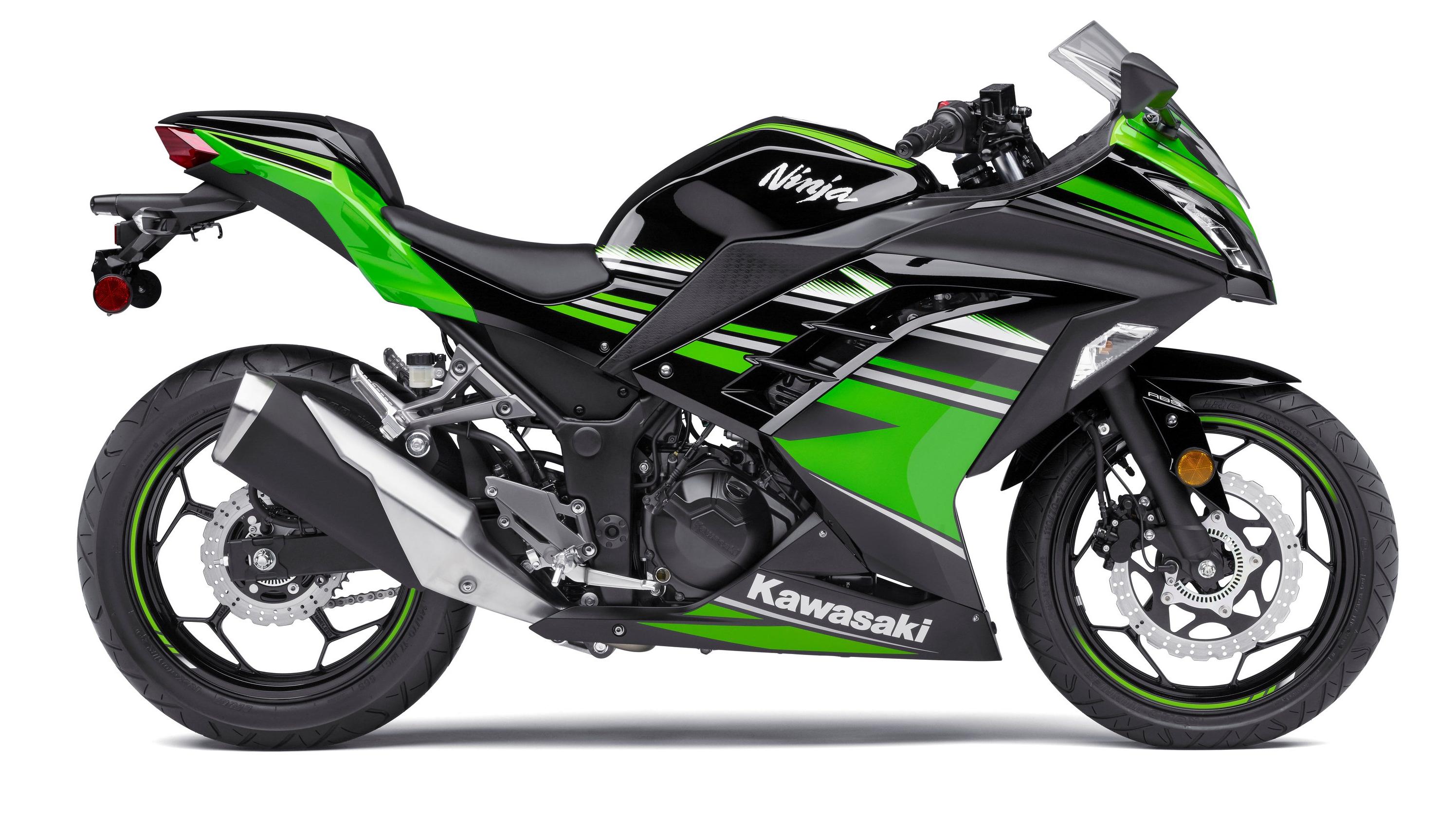 Kawasaki Ninja 300 De 2017 Espírito De Competição Motores Sapo