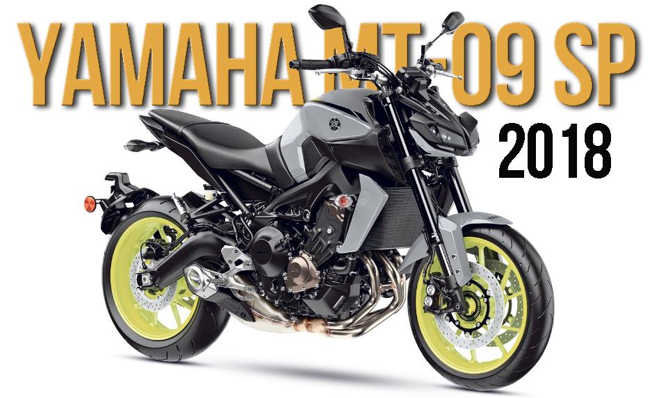 Versão Especial da Yamaha MT-09 para 2018
