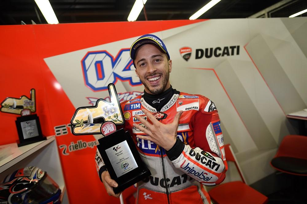 """MotoGP – Jorge Lorenzo: """"Não tenho palavras para descrever o momento de Andrea Dovizioso"""""""