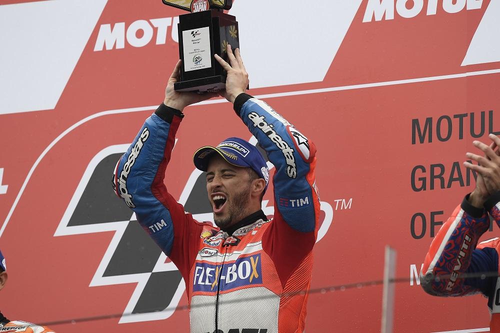 MotoGP: Estatísticas da vitória de Andrea Dovizioso no Japão
