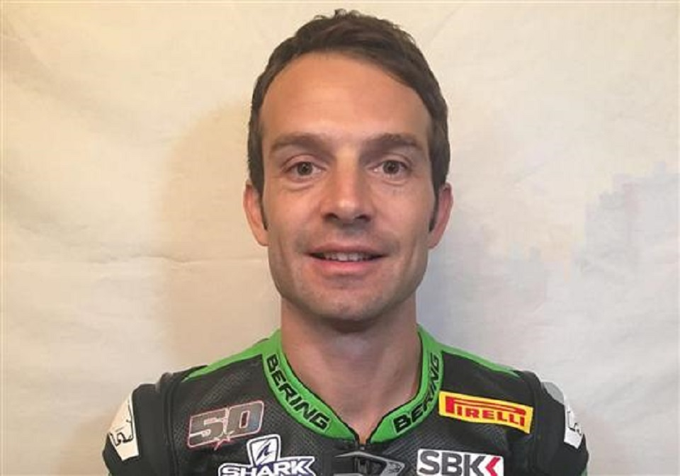 SBK: Sylvain Guintoli confirmado na Kawasaki Puccetti