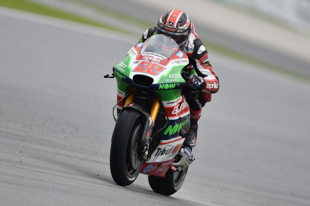 MotoGP: Sam Lowes, o piloto que mais caiu em 2017