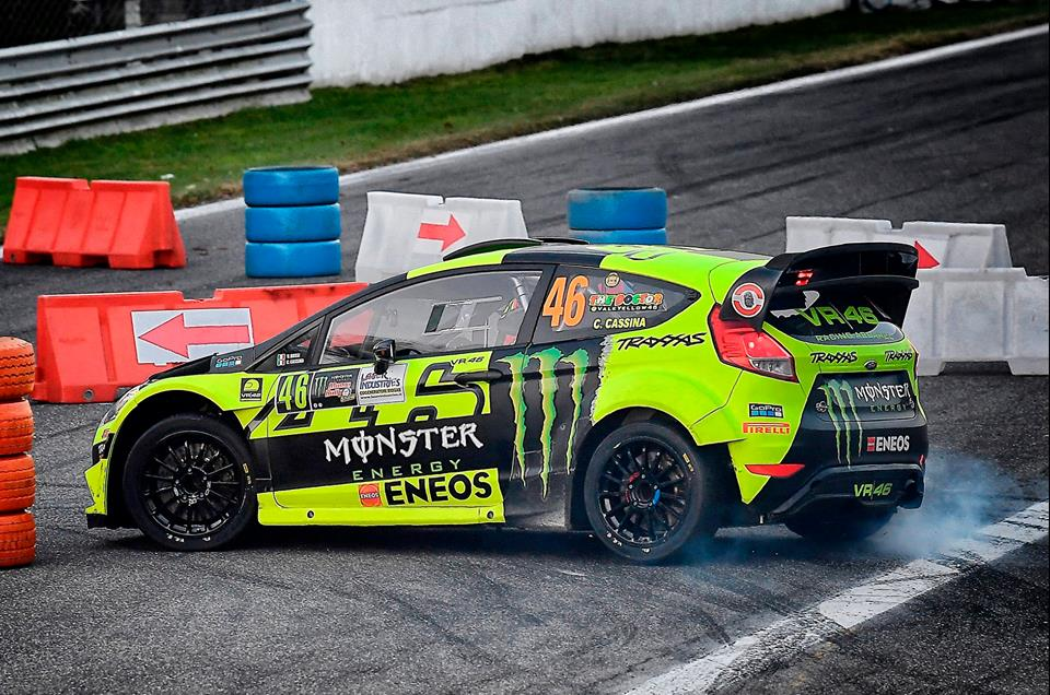 Monza Rally Show: Valentino Rossi é cabeça de cartaz