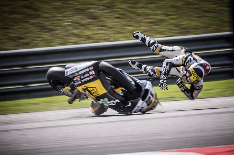 MotoGP: Recorde de quedas batido em 2017