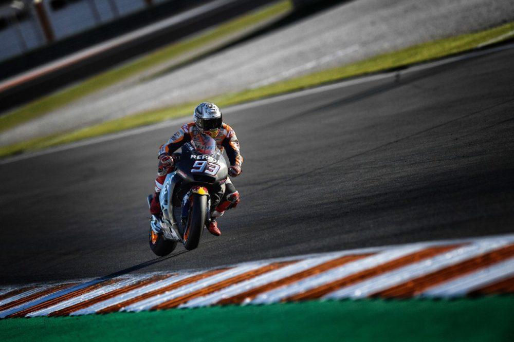 """MotoGP – Marc Márquez: """"Apresentámos um bom ritmo em Valência"""""""