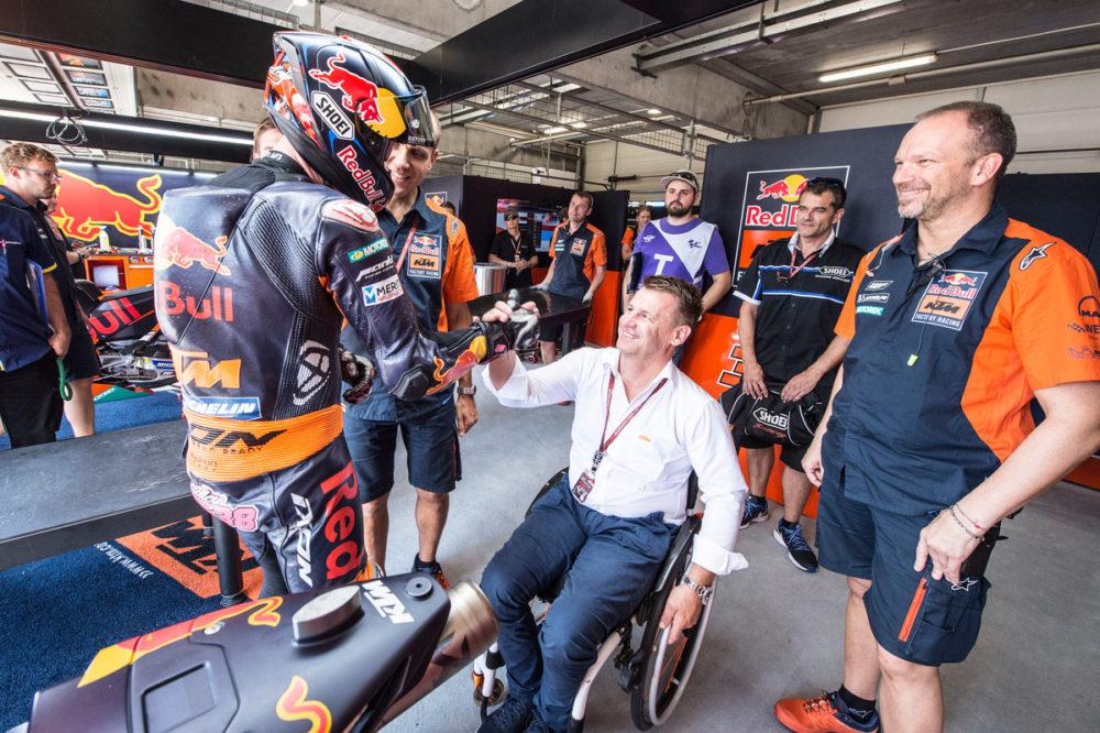 """MotoGP – Pit Beirer: """"Não teria sido justo dispensar Bradley Smith"""""""