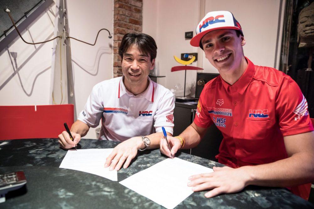 MXGP: Tim Gajser renova até 2020 com a Honda