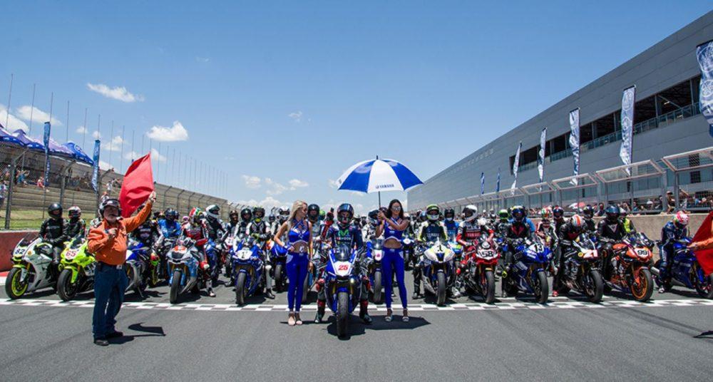 MotoGP: Maverick Viñales rodou na renovada pista de Kyalami