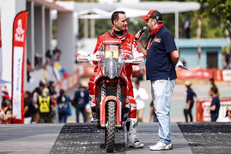 """Dakar 2018 – Gerard Farrés Guell: """"Não existiram problemas com o roadbook"""""""