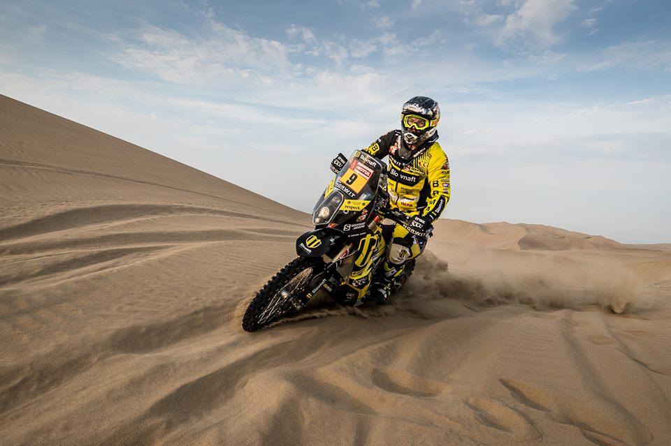 Dakar 2018: Stefan Svitko de fora