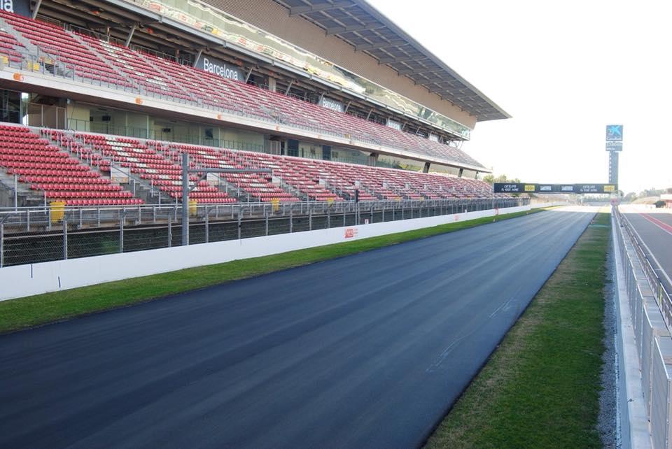 MotoGP: Obras no circuito de Barcelona-Catalunha já decorrem