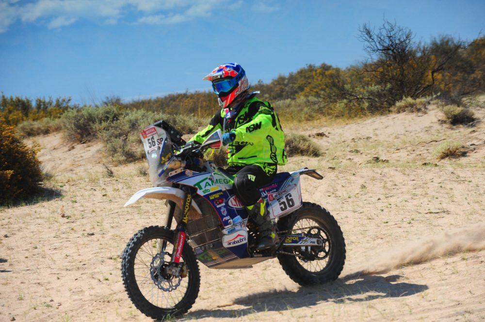 Dakar 2018: Fausto Mota ascende três posições