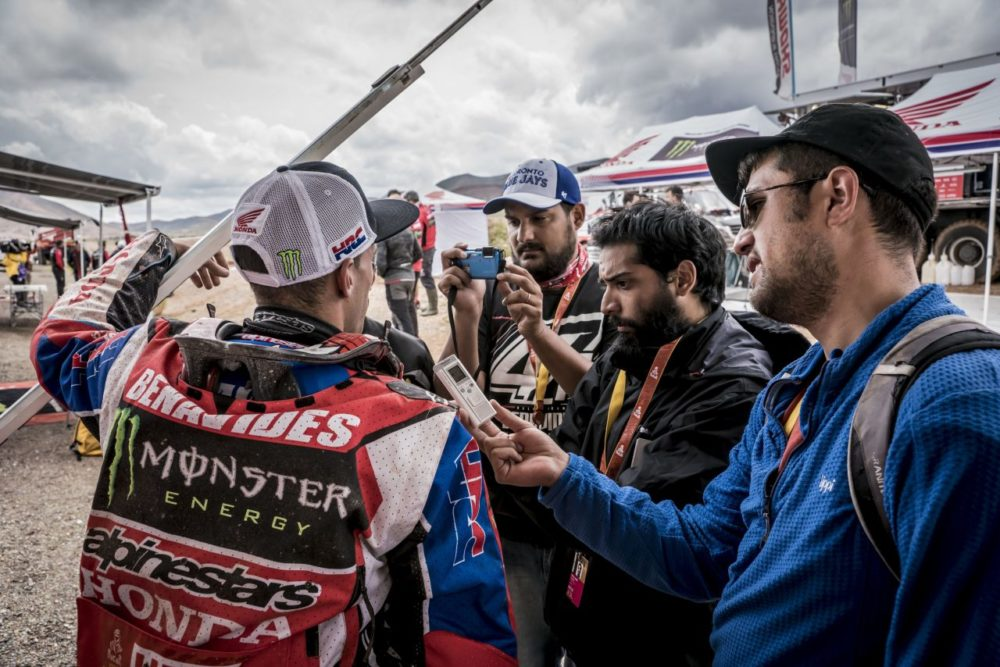 """Dakar 2018 – Kevin Benavides: """"Não é possível que os melhores pilotos tenham estado perdidos"""""""