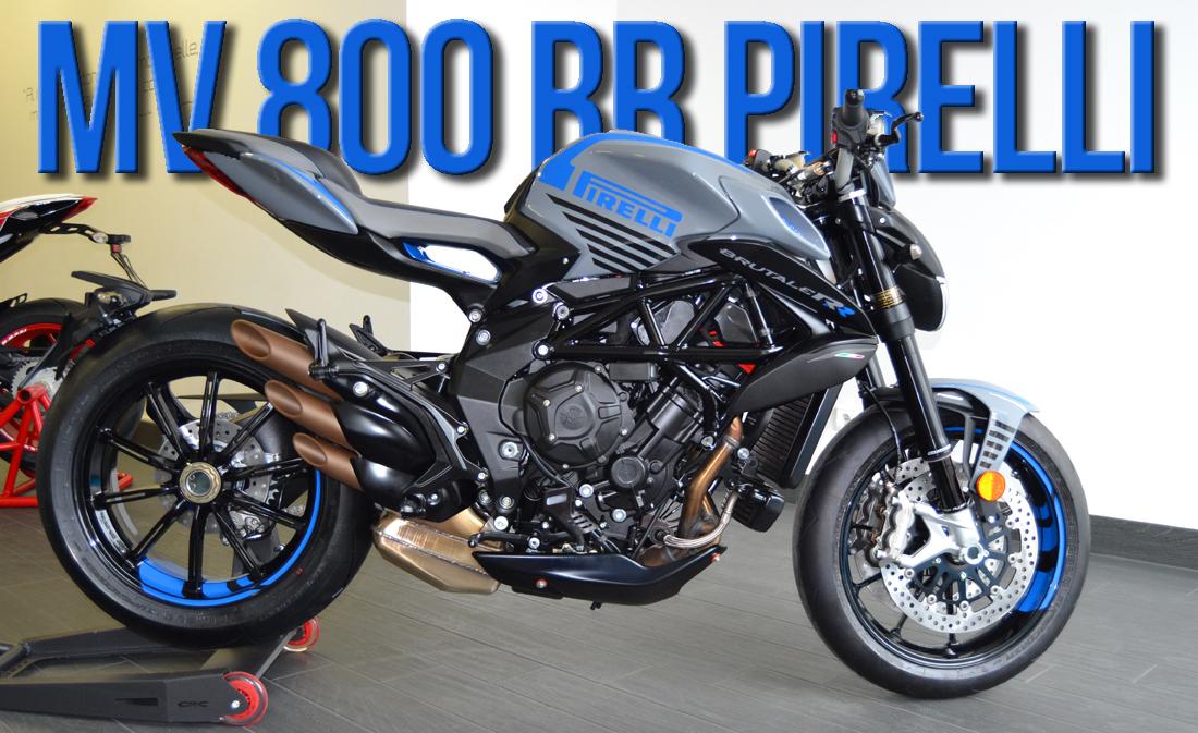 MV AGUSTA Brutale 800 RR Pirelli – Versão Exclusiva Celebra Parceria de Sucesso