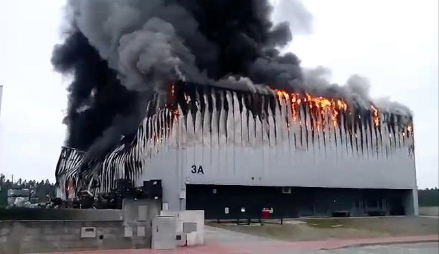 Incêndio na Fábrica da NEXX em Portugal – Comunicado Oficial
