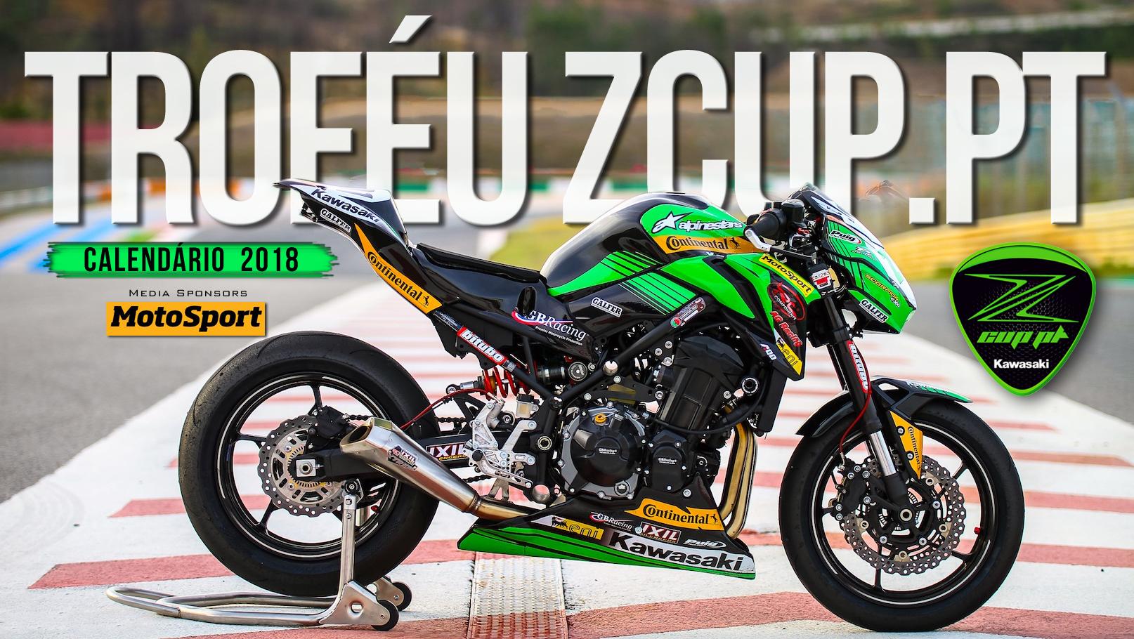 MotoSport renova apoio como Media Partner do Troféu Kawasaki ZCUP.PT em 2018