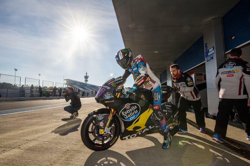 """Moto2 – Álex Márquez: """"Foi só uma volta"""""""