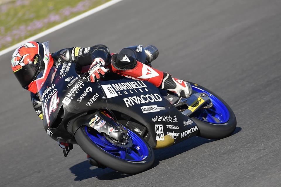 Moto3: Tony Arbolino recordista na liderança