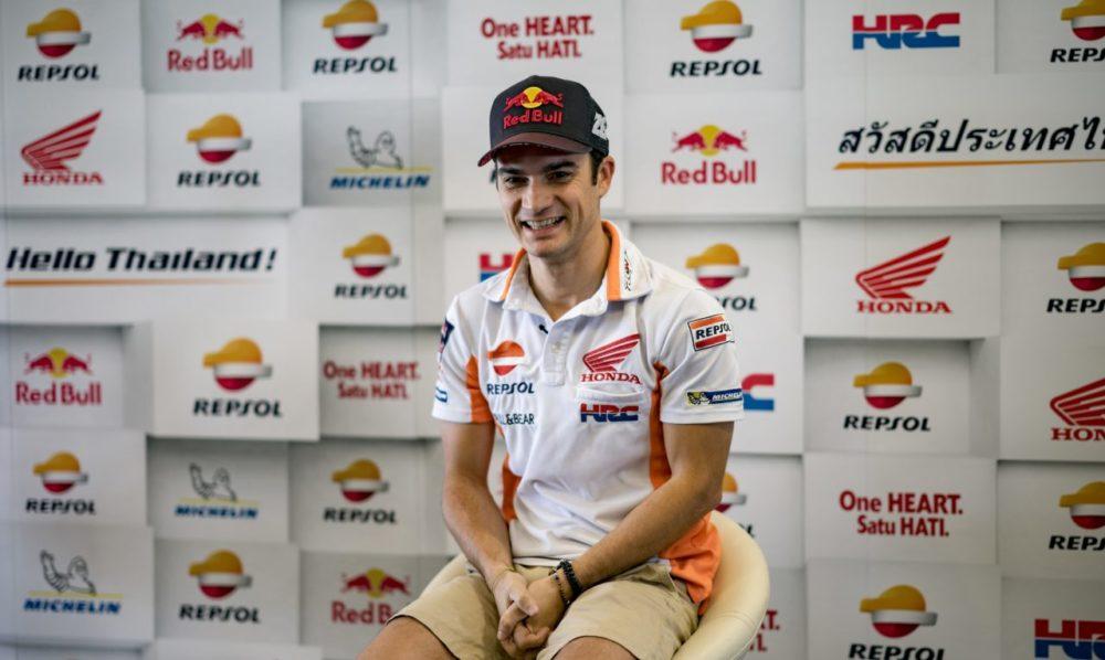 "MotoGP – Dani Pedrosa: ""A pista de Buriram é estreita e curta"""
