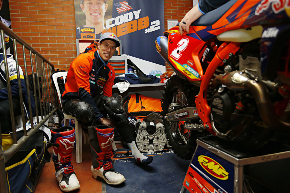 Cody Webb junta-se à Porto Extreme XL Lagares