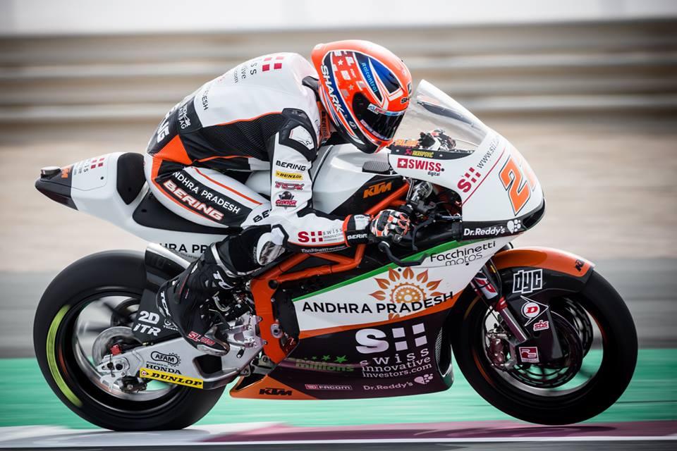 Moto2: KTM privadas com entrada em falso