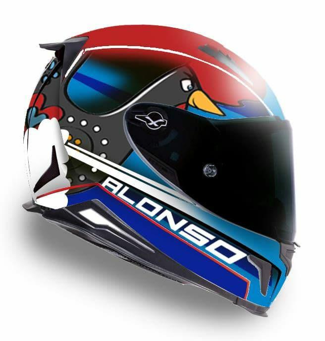 SPP 300: Tomás Alonso revela cores do capacete
