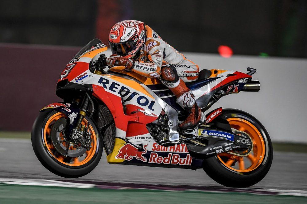 MotoGP: Honda estreou braço oscilante em fibra de carbono
