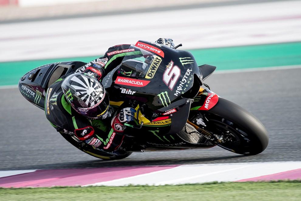 """MotoGP: Pneu dianteiro """"tirou"""" vitória a Johann Zarco"""