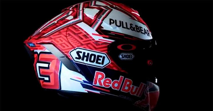 MotoGP, Vídeo: Marc Márquez apresenta o novo capacete