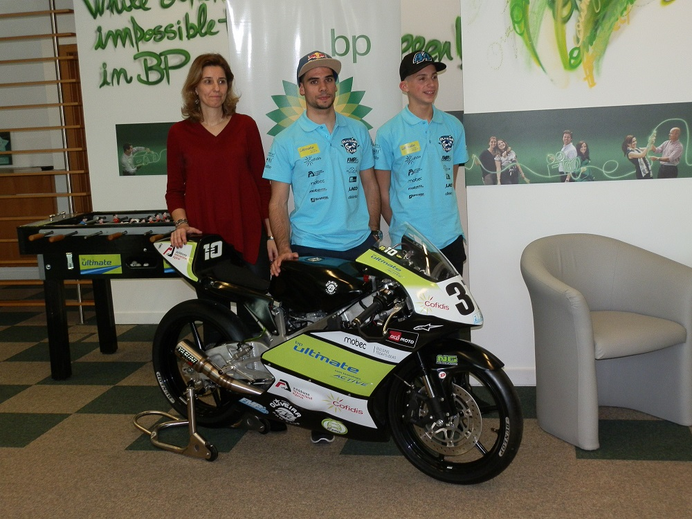 Moto2: Miguel Oliveira liga-se à BP Portugal