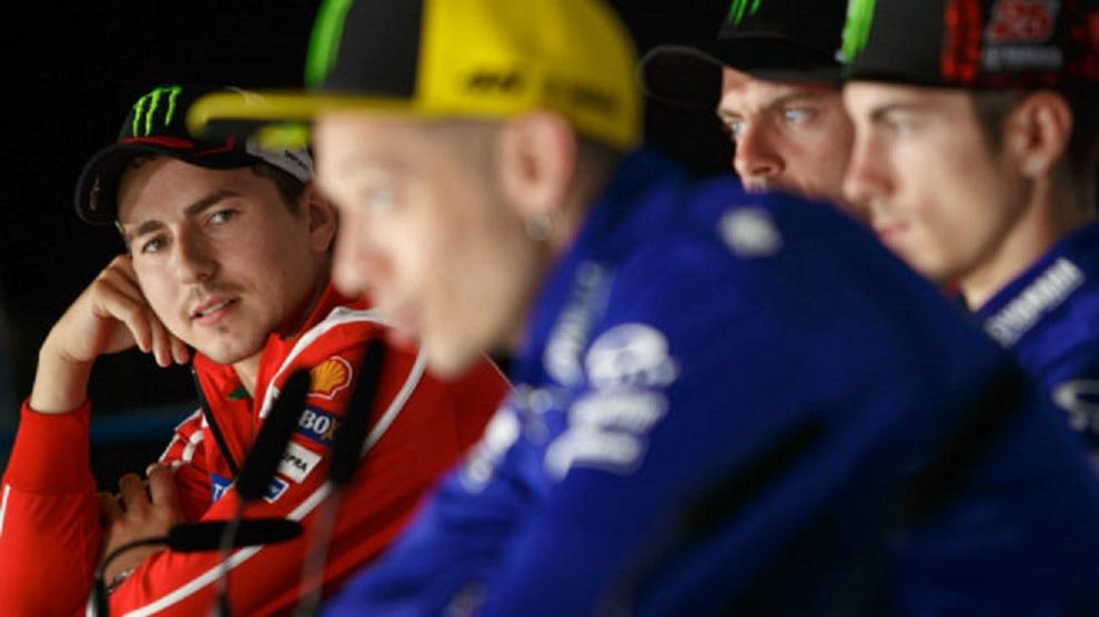 MotoGP: Valentino Rossi aconselha Jorge Lorenzo