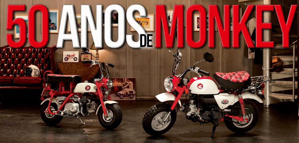 50 Anos de Honda Monkey – Aniversário comemorado com novo modelo
