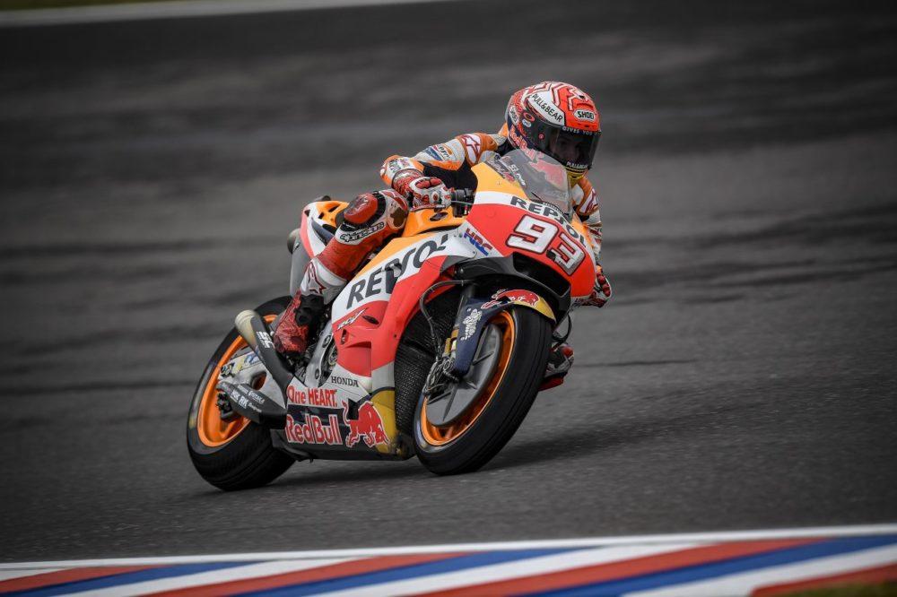 MotoGP: Marc Márquez a todo o gás