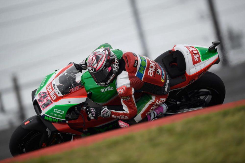 MotoGP: Aprilia testou em Austin