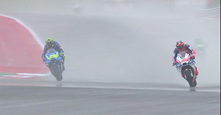 MotoGP, Vídeo: Que poeirada está em Austin