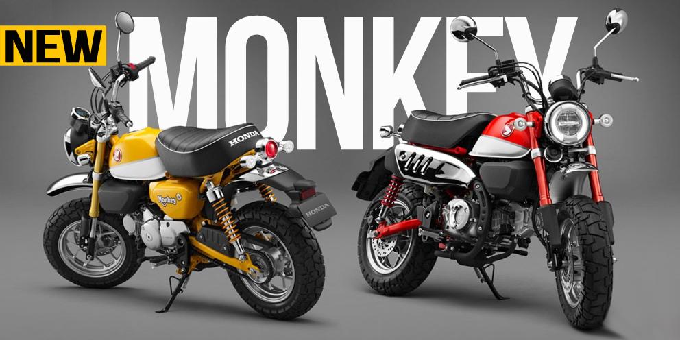Honda Monkey 2018 – Um conceito de sucesso relançado
