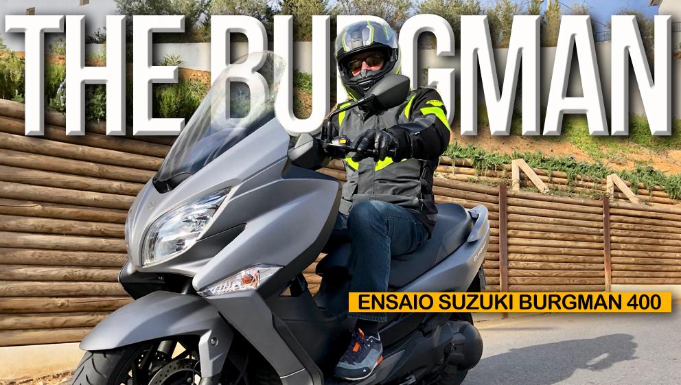 """Ensaio Suzuki Burgman 400 – Verdadeira """"Urban Queen"""" a reinar desde 1998"""