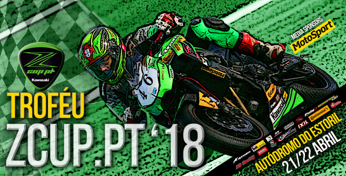 Troféu Kawasaki ZCUP.PT arranca este fim de semana no Autódromo do Estoril na 1ª Prova do CNV 2018