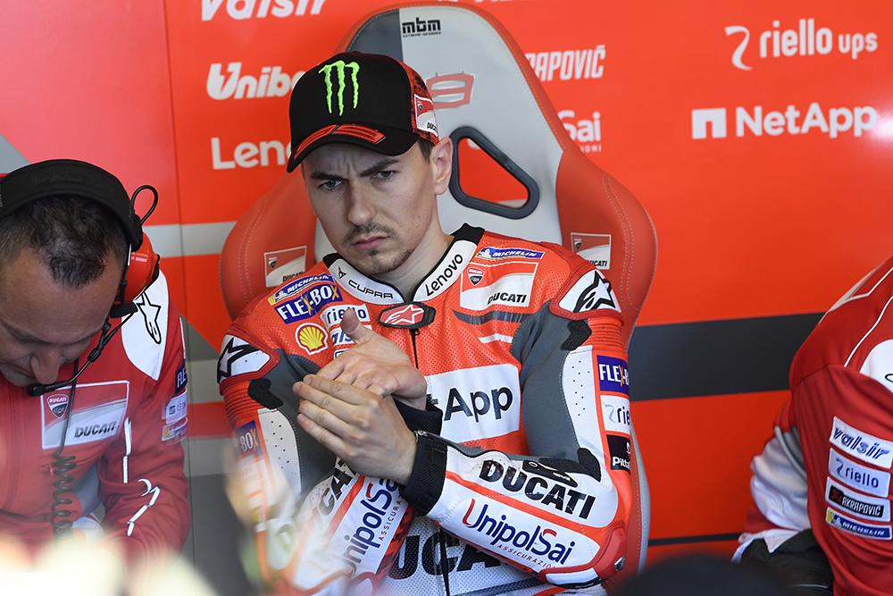 MotoGP: Jorge Lorenzo pensa em ano sabático?