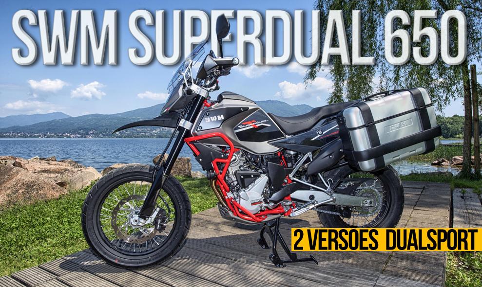 SWM Superdual 650 – Versões T de 19″ e X de 21″