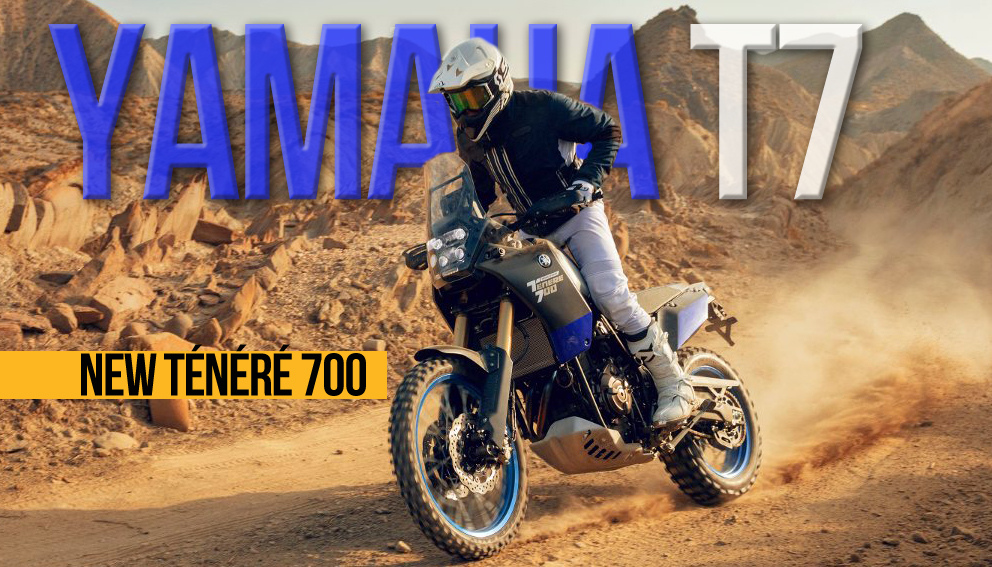 Yamaha T7 – The New Ténéré 700