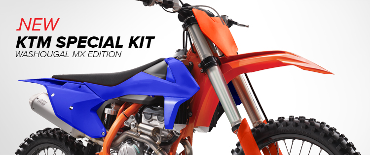 POLISPORT KTM SPECIAL KITS – WASHOUGAL EDITION & SIX DAYS EDITION