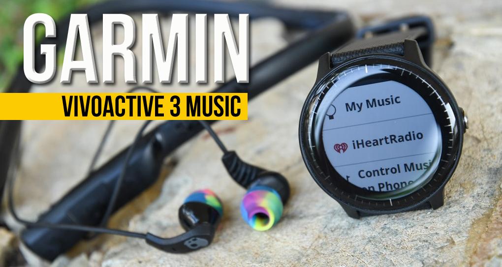 Garmin Vívoactive® 3 Music – Música e pagamentos sem contacto sempre consigo